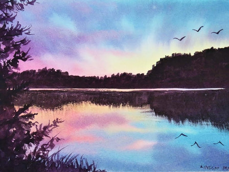 Painting Tutorials - 'At Home Art' 11