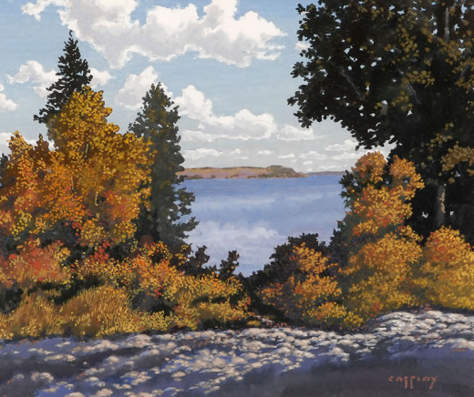George Cassidy, Landscape