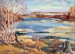Muriel Newton-White, Untitles ( Winter landscape)