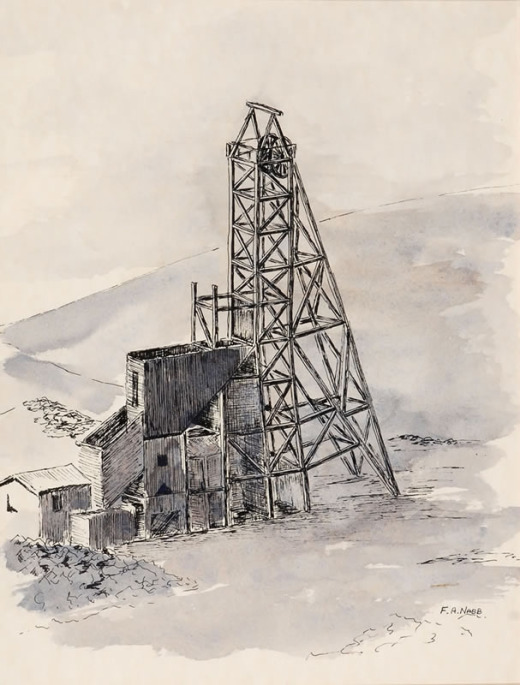 Fred Nabb, Independence (D.S. Mine)