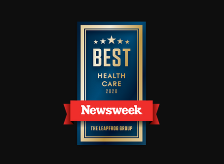 Newseek Awards LuminOre CopperTouch as Best Infection Prevention Product!