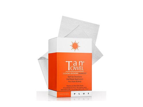 TanTowel Plus - Half Body Towelette