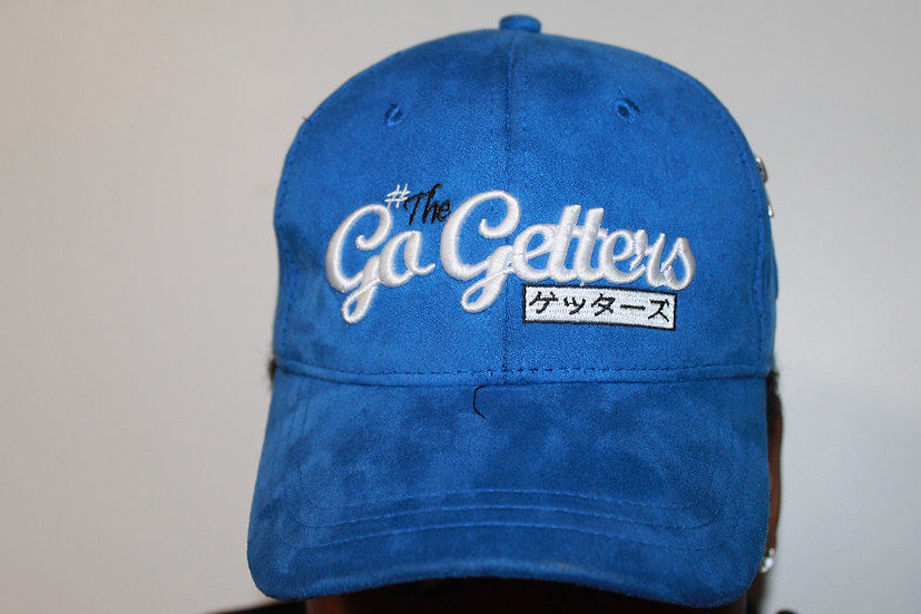 #TheGetters Suede Hoed - Blauw