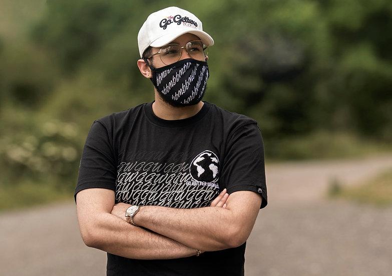 GGlobe - Zwarte Chenille T-shirt