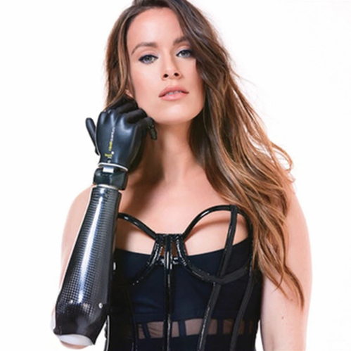 The Model with a Bionic Arm That's Now a New York Fashion Week Model