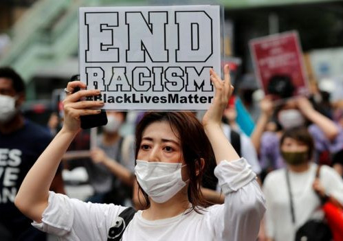 "Japanese Models ""not Japanese enough"" for miss japan - Black lives matter"