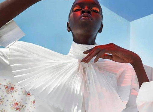 The Inspiring Story Of Fashion Model Adhar Abiem