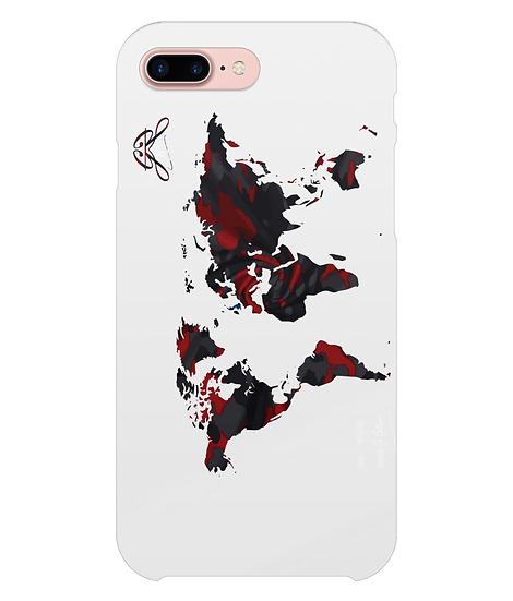 RXMBO WXRLD 2 (Rouge / Noir) - Étui pour téléphone (Apple / Samsung)