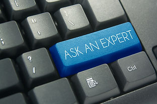 ask an expert keyboard button