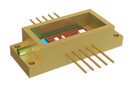 laser diode package with cooling