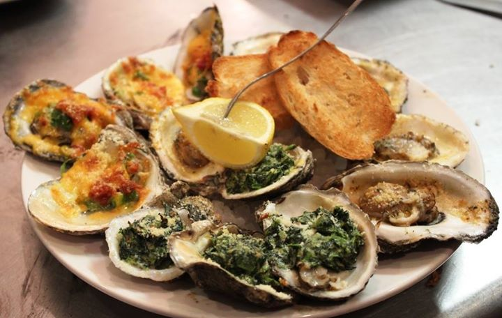 Trio Oysters