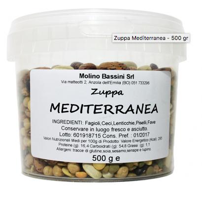 zuppa MEDITERRANEA 500Gr.