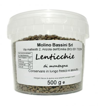 LENTICCHIE 500gr