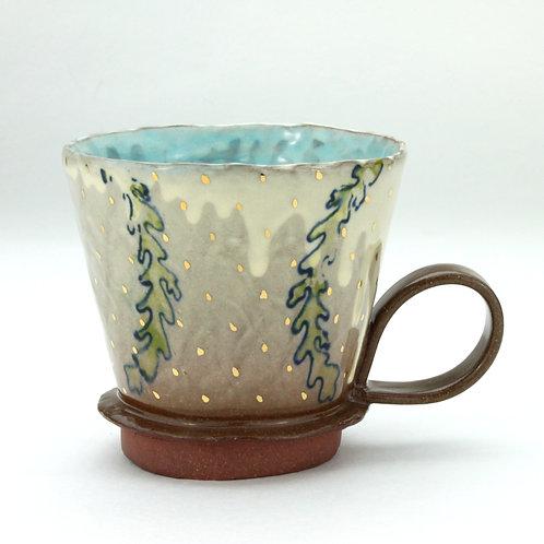 Seaweed teacup