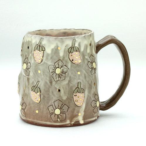 Red Strawberry mug