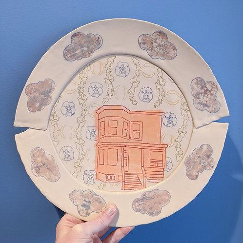 large house plates