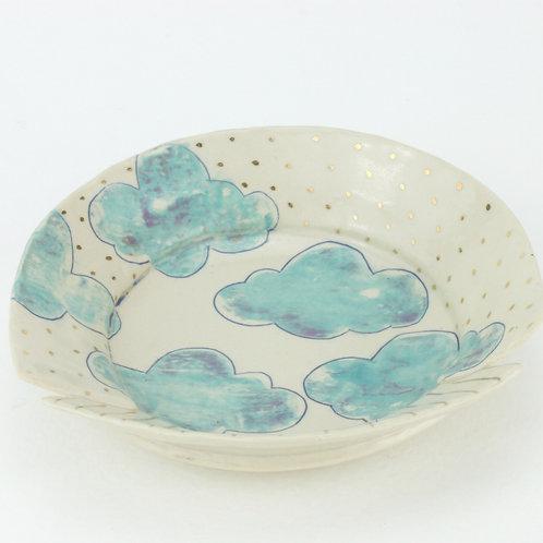 small cloud dish