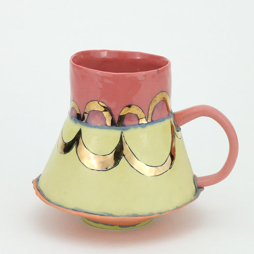 red/yellow/orange abstract cloud mugs