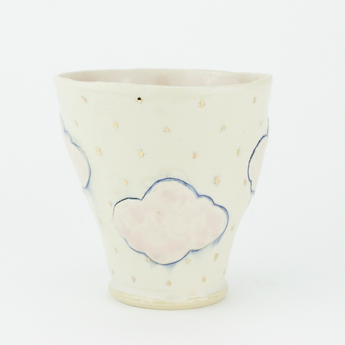 cloud cup with lustre