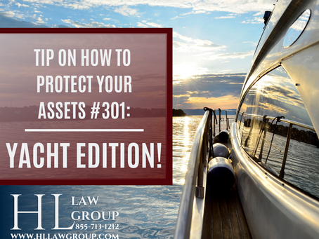 How To Protect Your Assets: YACHT EDITION!