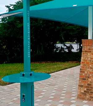 Provide Your Community with Some Fun and Function with Sun Charge Systems Charging Poles and Seating