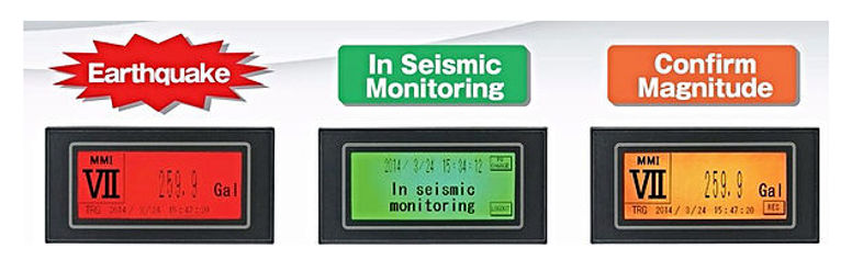 IMV seismic accelerograph
