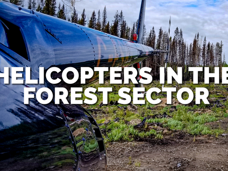 The many uses of helicopters in the Forestry Industry