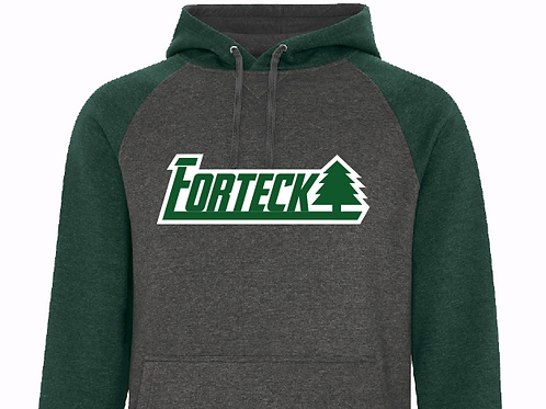 Forteck Two Tone Hooded Sweatshirt
