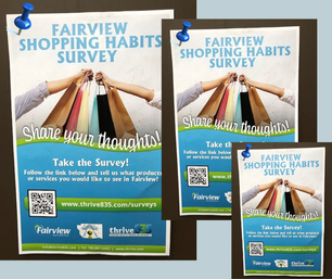 Survey Posters Posted Around Town