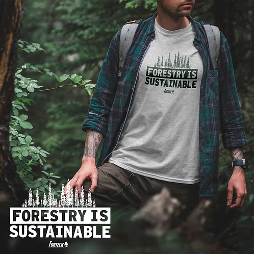 Forestry Is Sustainable Graphic T-Shirt