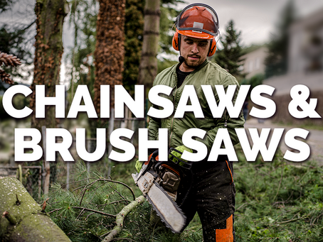 Chainsaws & Brush Saws in Forestry