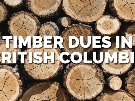 Timber Dues in British Columbia