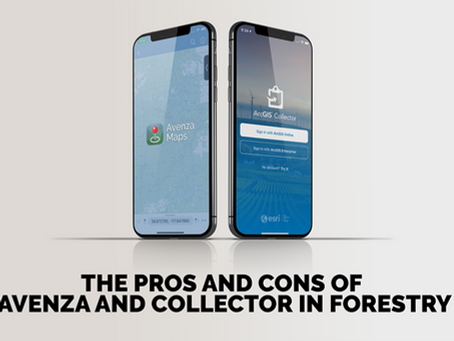 The Pros and Cons of Avenza and Collector in Forestry