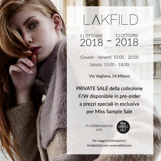 LAKFILD & Miss Sample Sale