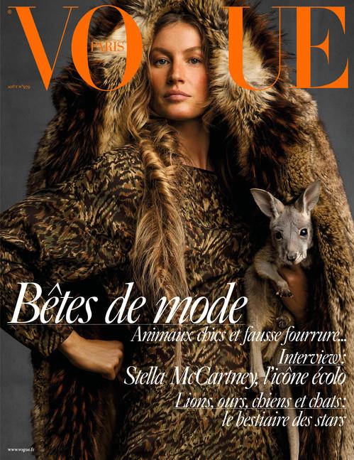 Gisele Bündchen x Vogue Paris