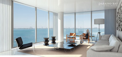 living room biscayne - bay view
