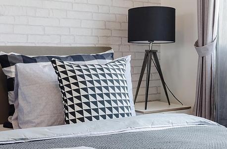 Chambre à coucher moderne et douce