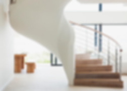 Escalier ouvert et contemporain