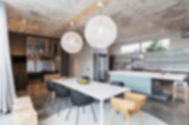 cuisine fonctionnelle moderne et lumineuse