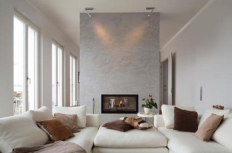 un salon lumineux et moderne