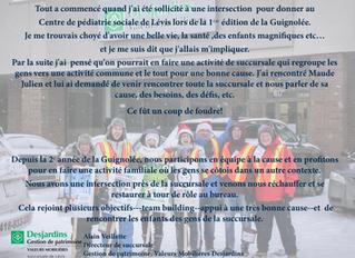 Participer en équipe à la Guignolée!