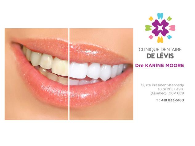 Clinique dentaire de Lévis - Dre Karine Moore