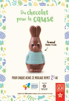 Un chocolat pour la cause!
