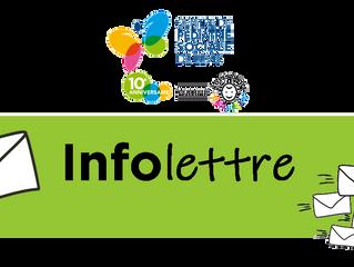 INFOLETTRE - Juillet 2019: la première!
