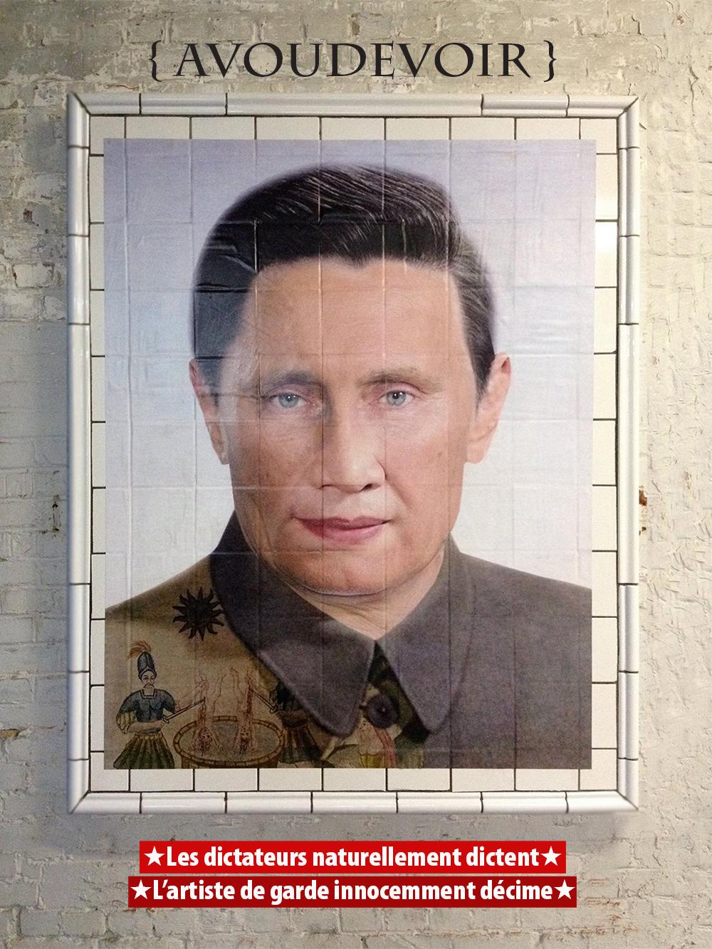 Portrait Robot de Dictateur