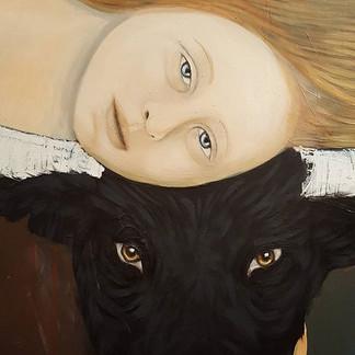 ☆ Le Taureau d'Emilie (detail 120x190cm)