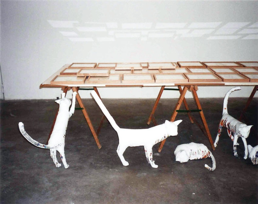 Chats table les enfants