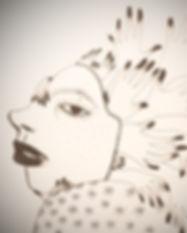 Serigraphie Aurelie Dubois artiste de garde