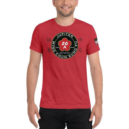 SSA Jupiter Wing Chun Red Tri-Blend Short sleeve t-shirt