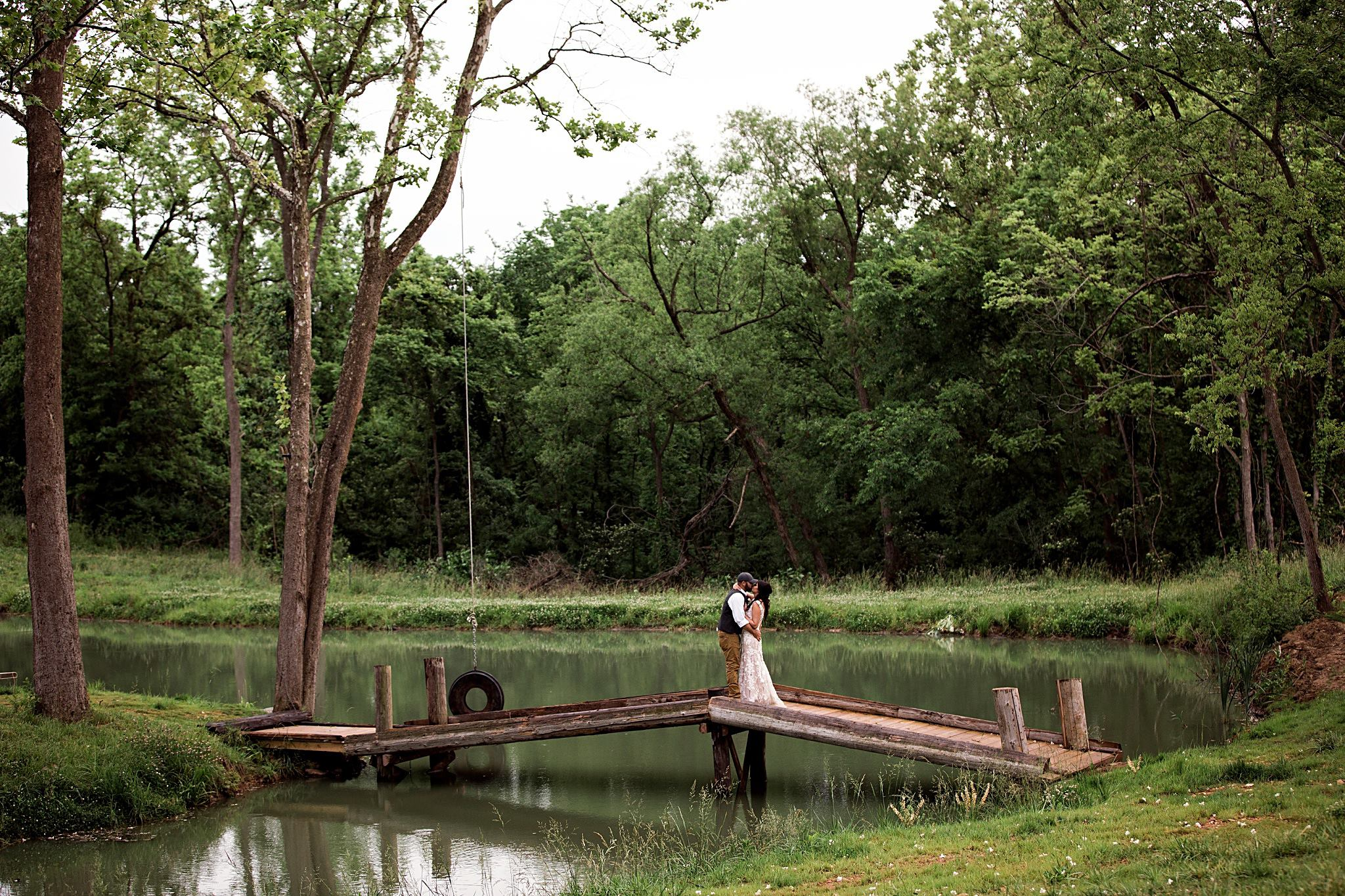 Christine and brent on mount hope bridge